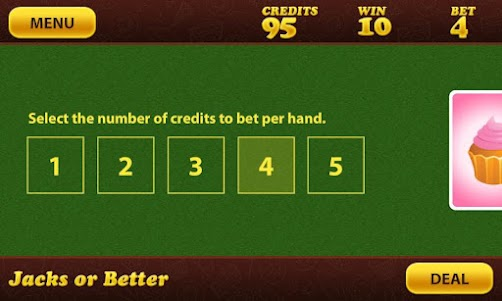 Sweet Shop Poker 1.1.1 screenshot 2