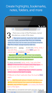 Holy Bible King James + Audio 7.12.4 screenshot 1