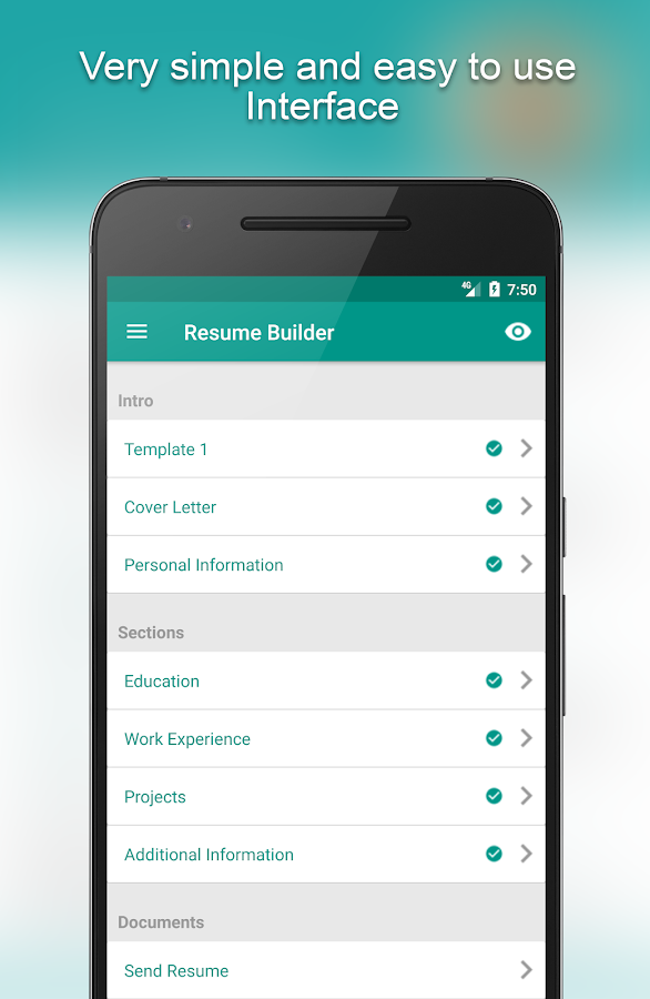 Download Resume Builder App Free 8 5 4 1 Free Apk Android Tools Apps