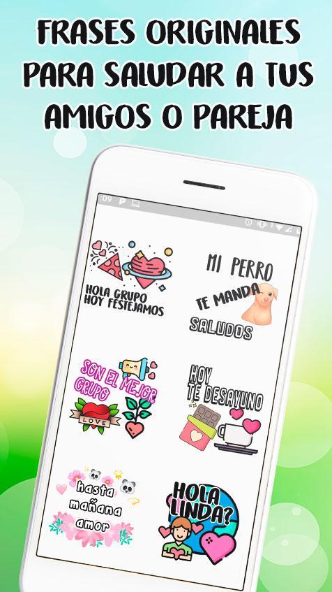 Stickers De Saludos En Español Para Whatsapp 2 Apk Download
