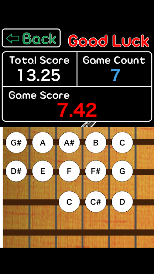 Bass Perfect Chord - Learn absolute ear key game 1 2 3 APK