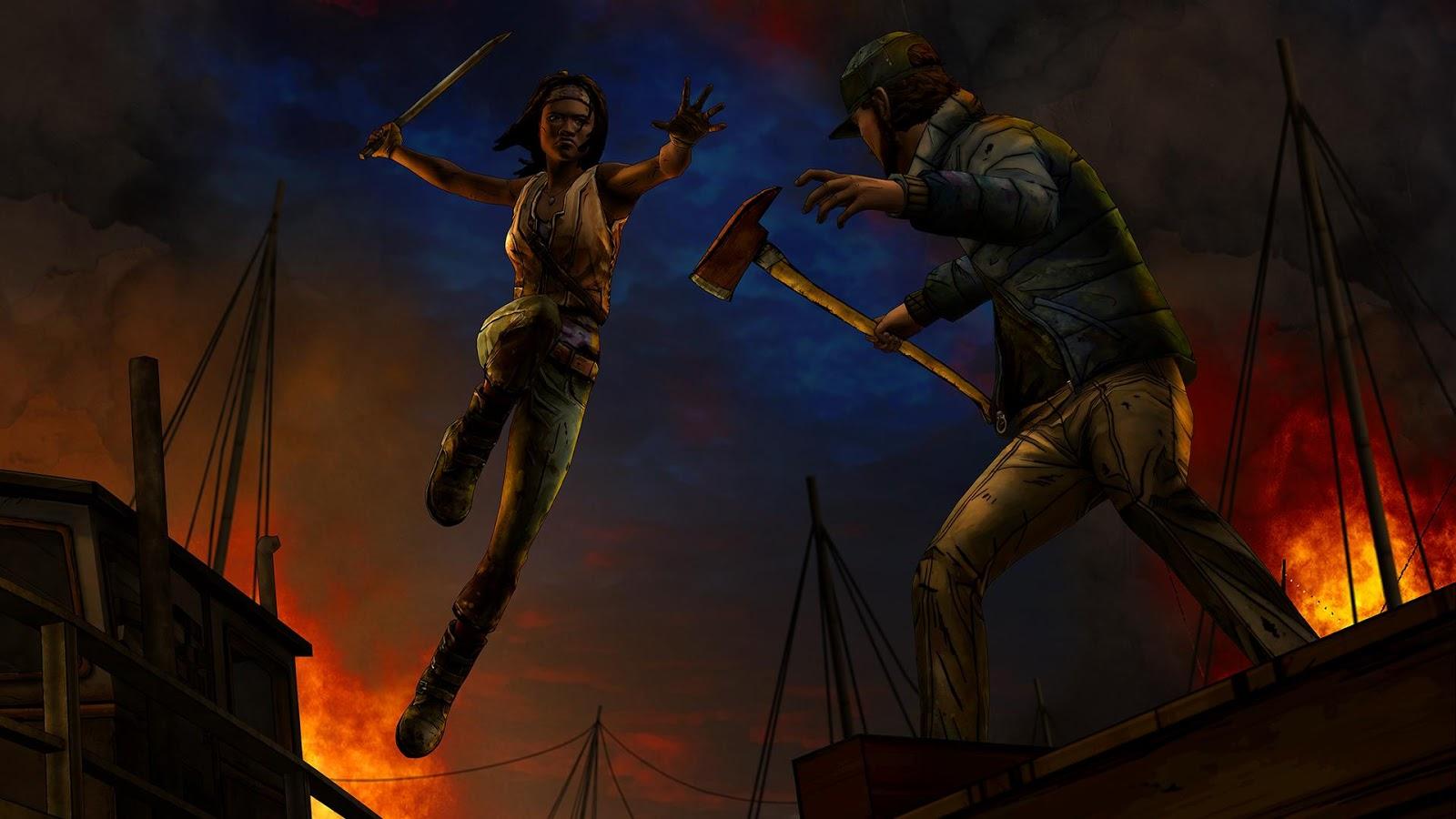 The Walking Dead: Michonne 1 13 APK + OBB (Data File