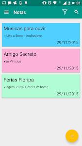 Notas 1.2 screenshot 1