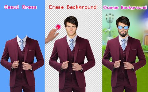 Men Shirt With Tie Photo Suit Maker 1.0.9 screenshot 6