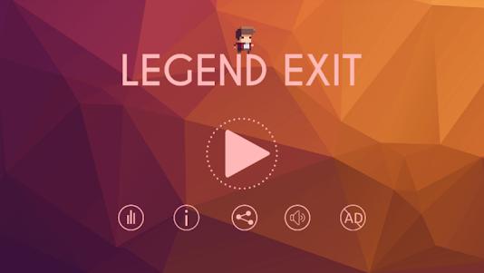 Legend Exit 1.0.3 screenshot 1