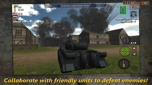Attack on Tank : Rush - Heroes of WW2 2.2.0 screenshot 1
