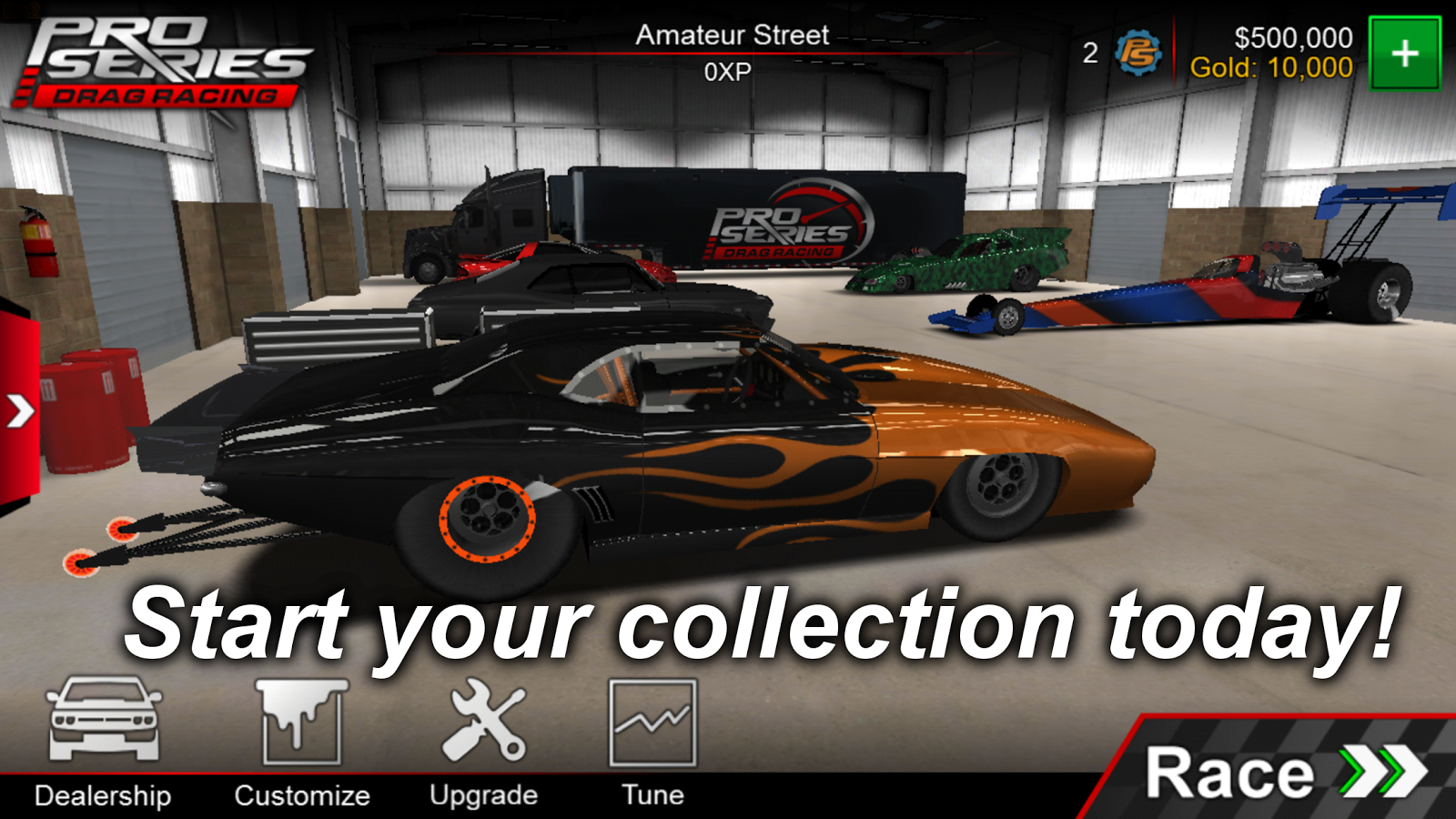 Pro Series Drag Racing 2.11 APK Download - Android Racing Games