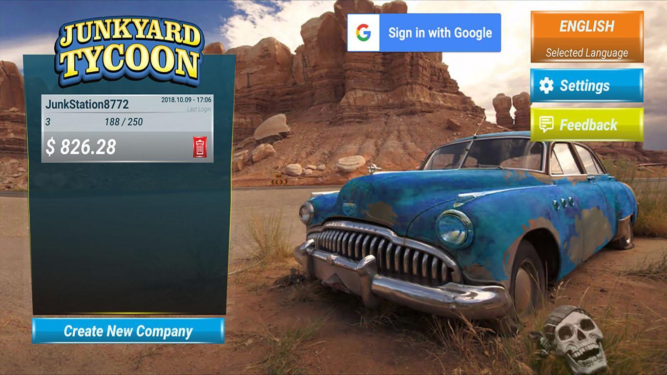 Junkyard Tycoon Car Business Simulation Game 1 0 21 Apk Obb