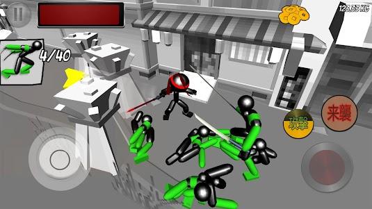 Stickman Ninja Fighting 1.04 screenshot 1