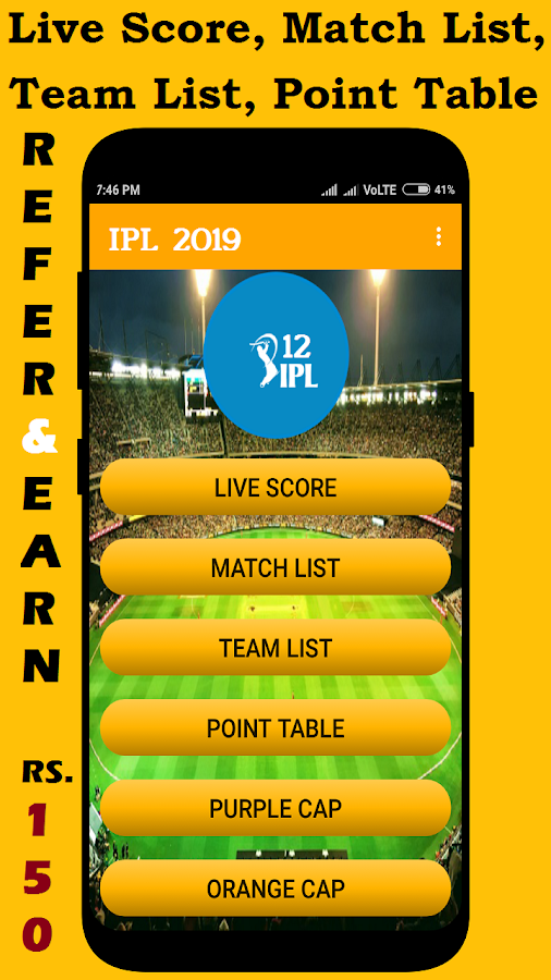 IPL 2019 Schedule 3 1 APK Download - Android Sports Games