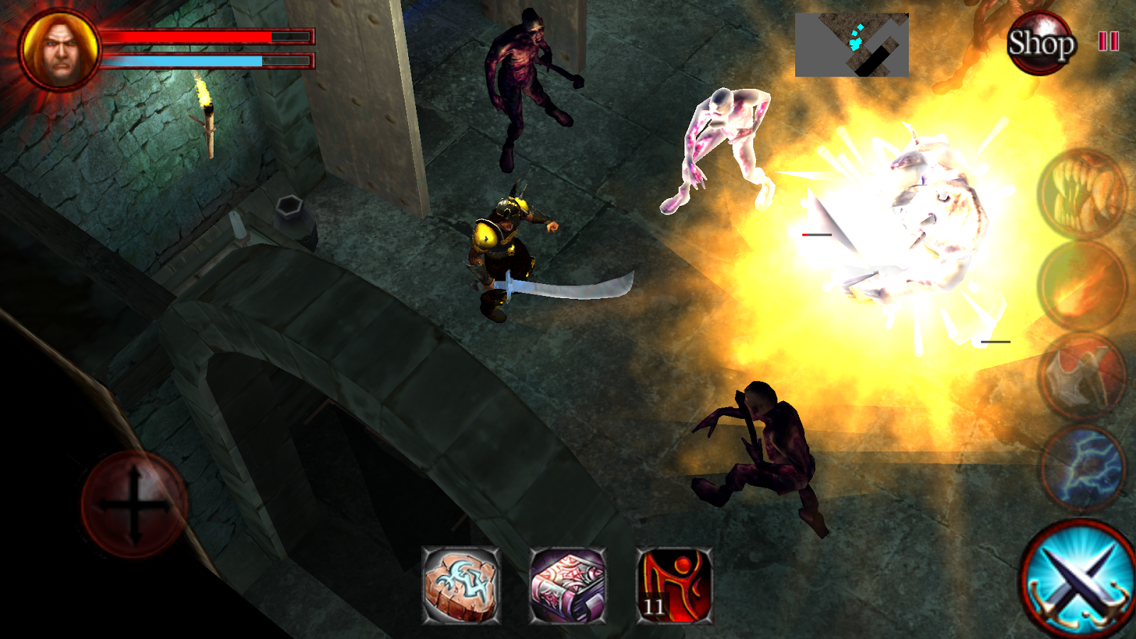 ... Dungeons and Demons - Fantasy Action RPG 1.9.6 screenshot 4 ...