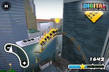 3D Rollercoaster Rush New York 1.5 screenshot 3