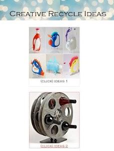 Creative Recycle Ideas 1.0 screenshot 4