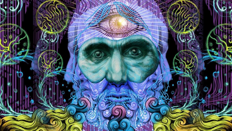 Psychedelic HD Live Wallpaper 130 Screenshot 2