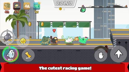 Pets Race - Fun Multiplayer PvP Online Racing Game 1.2.7 screenshot 1