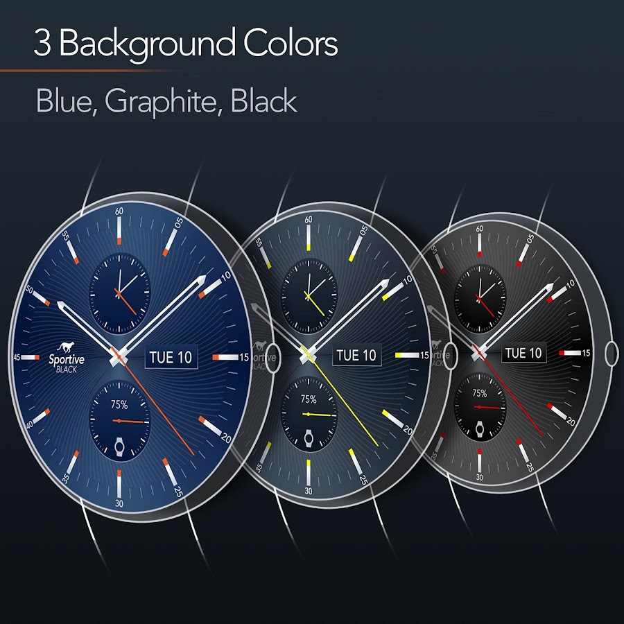 Sportive Watch Face 20 Apk Download Android Personalization Apps Circuit Board Clock V 10 For G Facerepo Screenshot 4