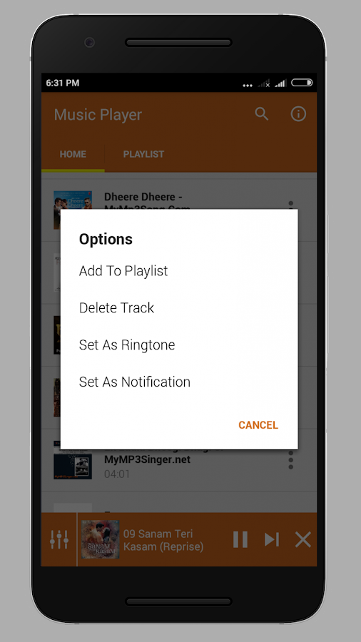 Music Player Lite 1 0 0 APK Download - Android Music & Audio