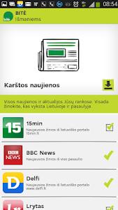 BITĖ išmaniems 1.1.1 screenshot 5