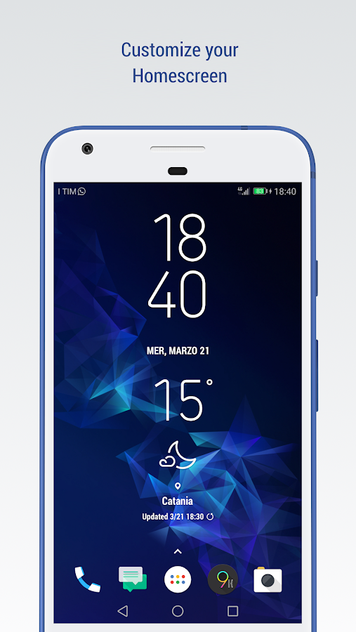 S9 for Kustom - Widget, Lockscreen & Wallpapers 2 3 APK