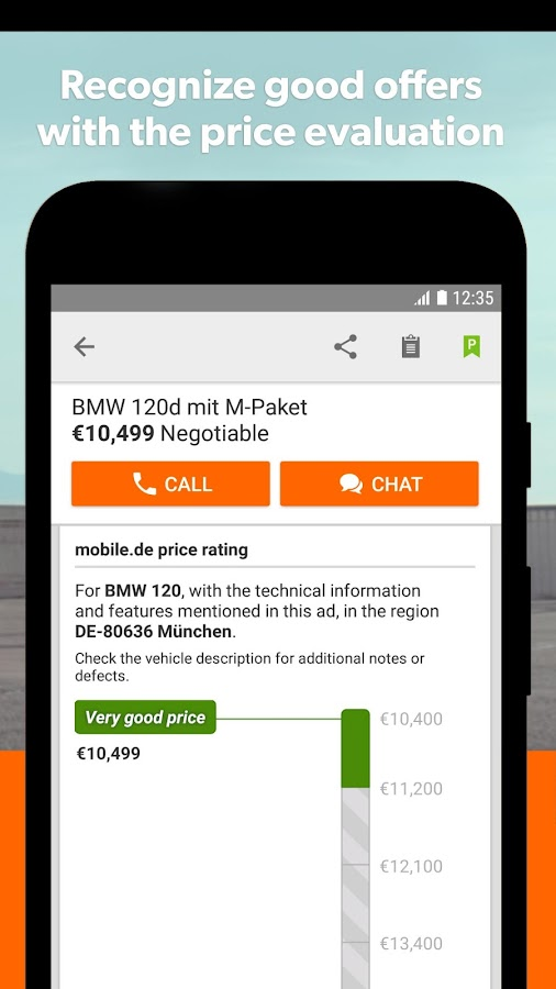 mobile.de – Germany\'s largest car market APK Download - Android cats ...