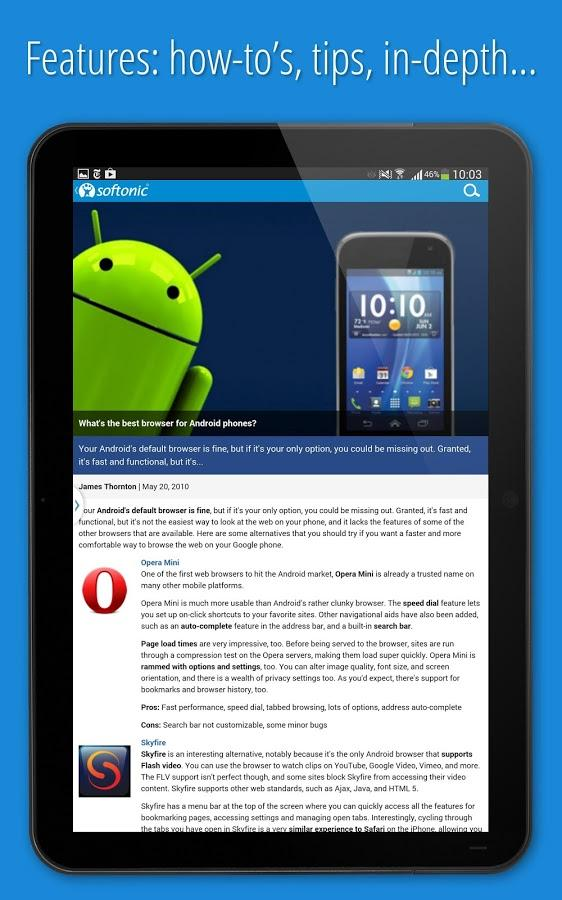 Softonic 2675 apk download android news magazines apps softonic 2675 screenshot 12 gumiabroncs Choice Image