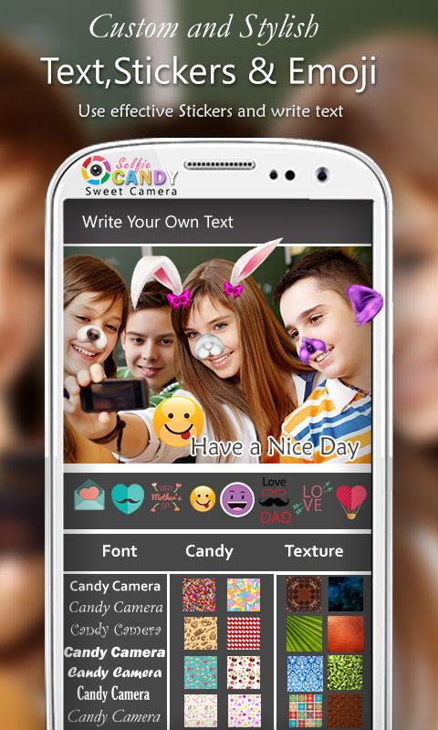 Candy Selfie Sweet Camera HD 1 2 APK Download - Android Photography Apps
