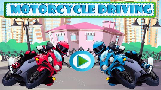 Motorcycle Driving 1.0 screenshot 1