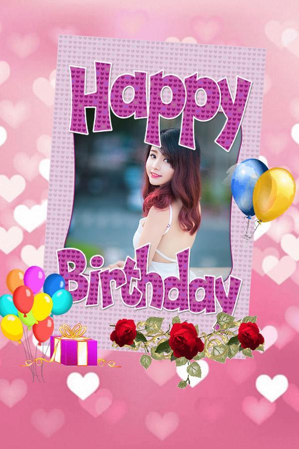 Birthday Frame Photo Editor Online Framebob Org Happy Frames