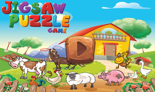 Animal Farm Puzzles for kids 1.0.0 screenshot 1