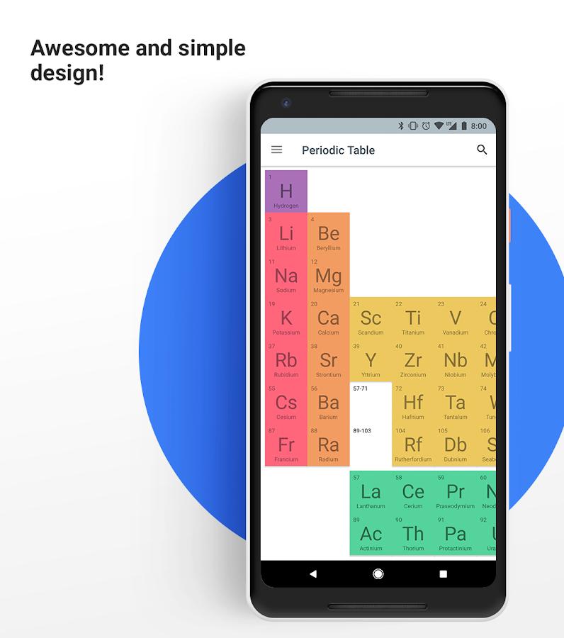 Virtual periodic table 2018 pro 13 apk download android education virtual periodic table 2018 pro 13 screenshot 1 urtaz Choice Image
