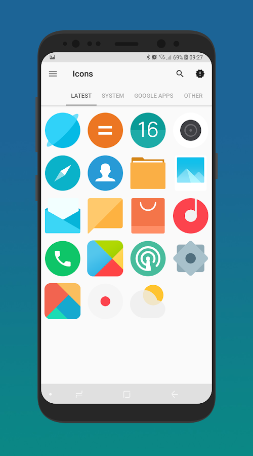 MIUI 9 - Icon Pack 1 6 APK Download - Android