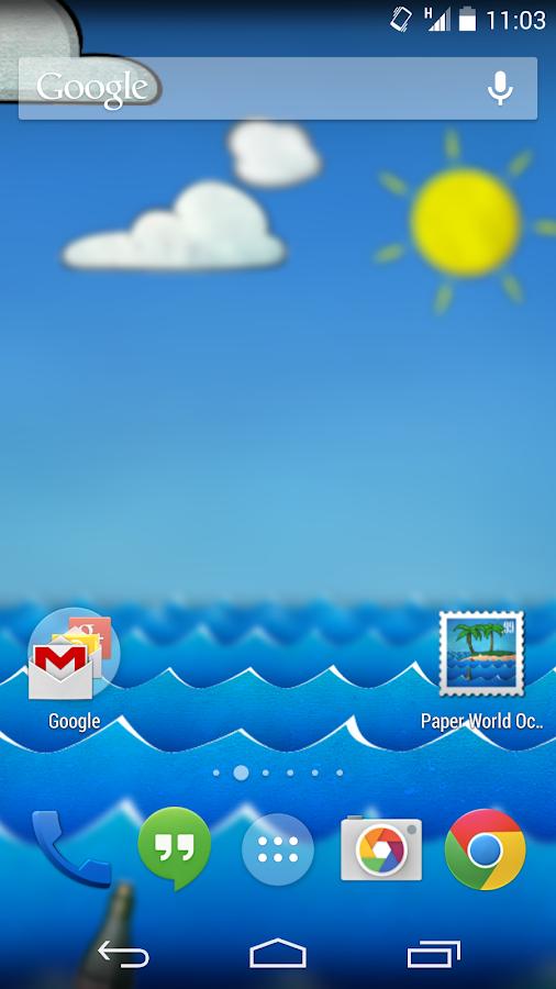 Paper Ocean Live Wallpaper 221 Apk Download Android