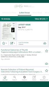 Journal of Hand Surgery 7.3.2 screenshot 4