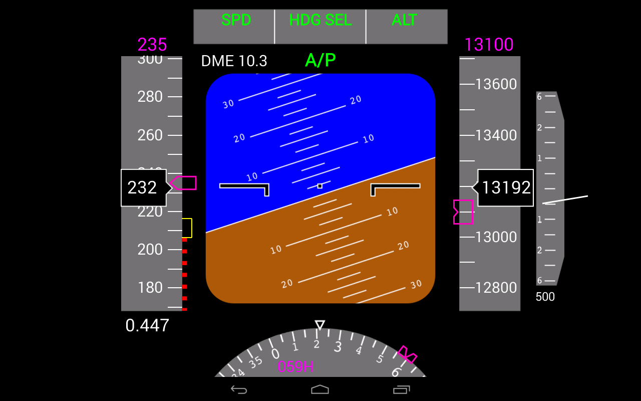 Flightgear Android PFD 2 0 1 APK Download - Android Simulation Games