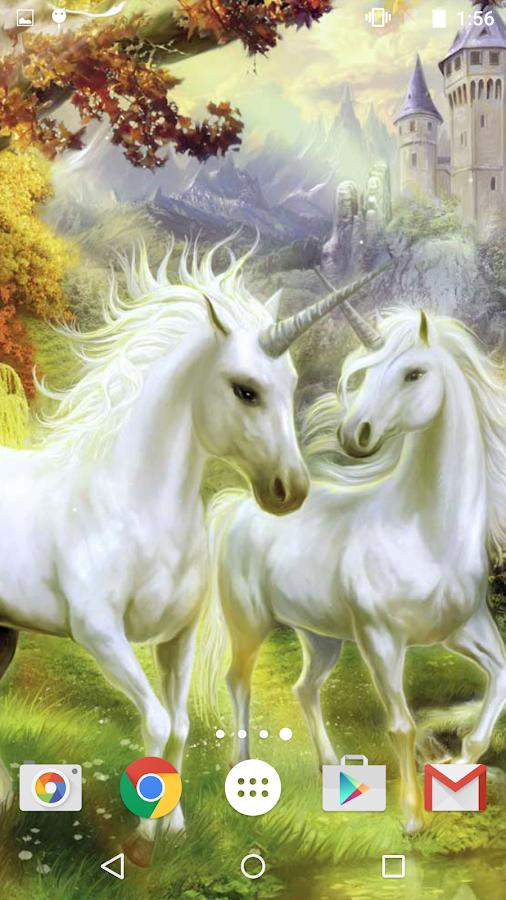 Unicorn Live Wallpaper 26 Screenshot 15