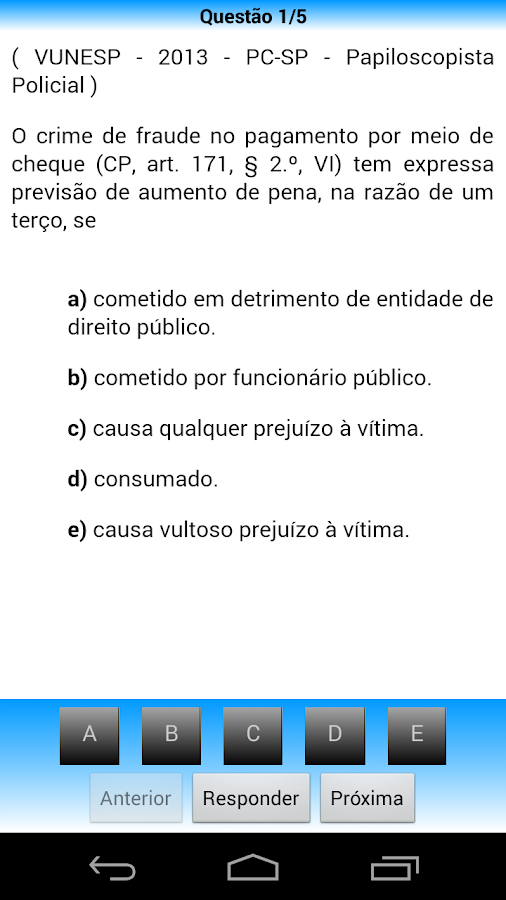 Direito penal pro 13 apk download android education apps direito penal pro 13 screenshot 5 fandeluxe Choice Image