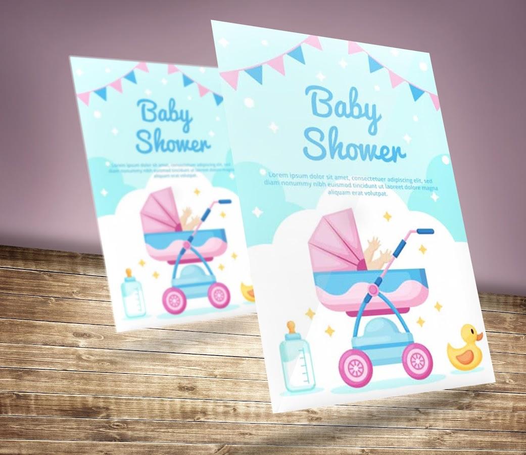 Baby Shower Invitation Card Maker 1 0 1 Apk Download