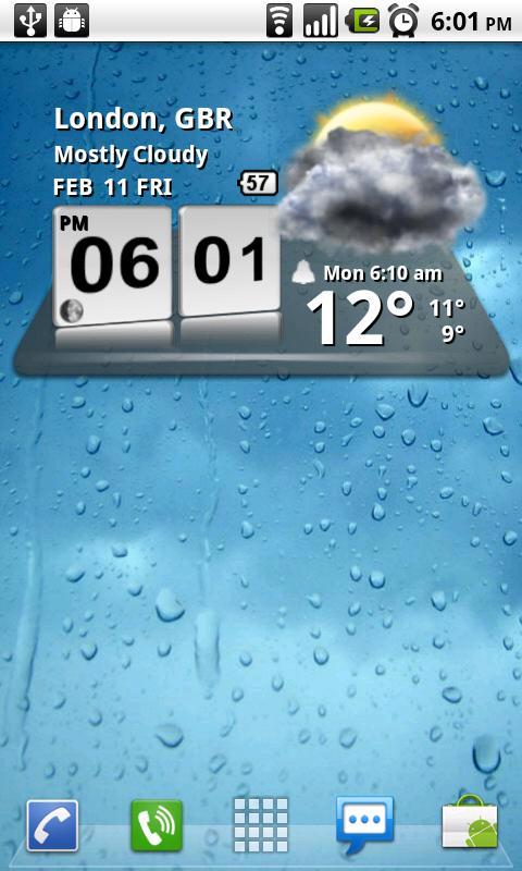 3D Digital Weather Clock 4 2 4 APK Download - Android
