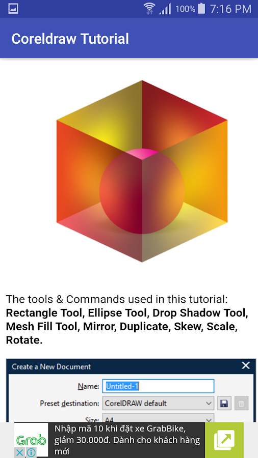 Tutorial Corel Draw 1 3 1 APK Download - Android Books