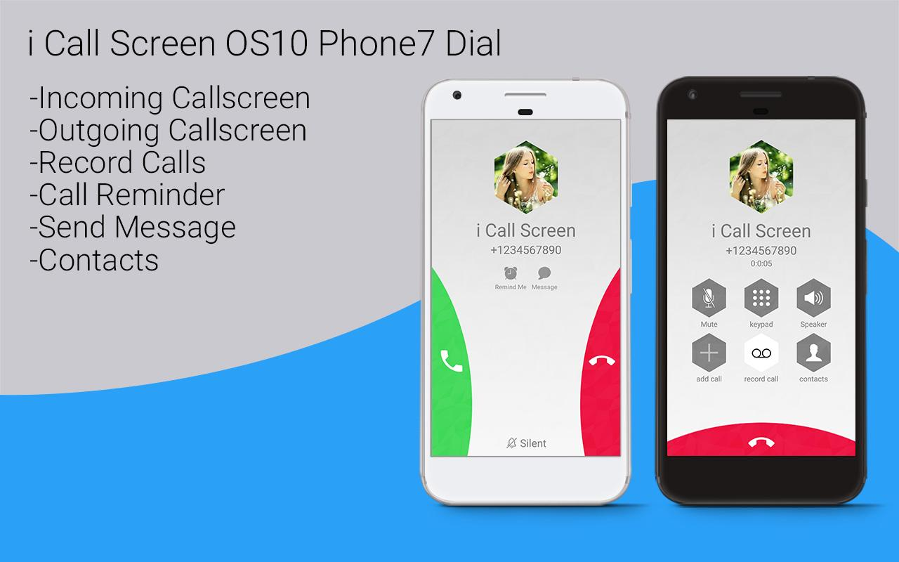 HD Phone 7 i Call Screen OS10 1 0 10 APK Download - Android