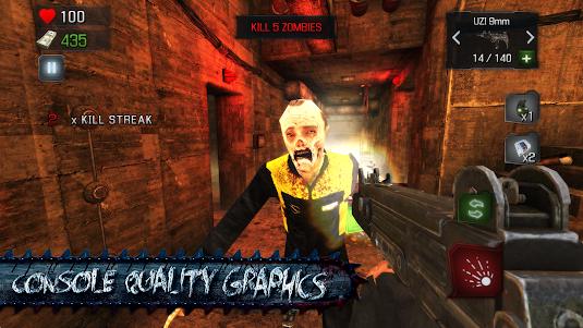 KILL DEAD: Zombie Shooter Call 1.5 screenshot 12