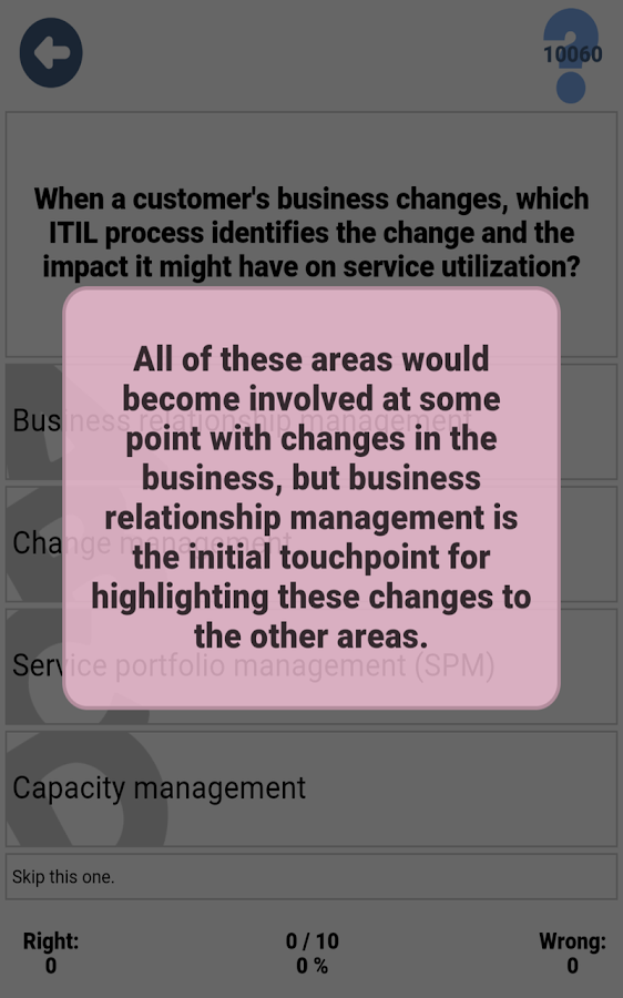 Itil Exam Tests Questions Offline 412 Apk Download Android