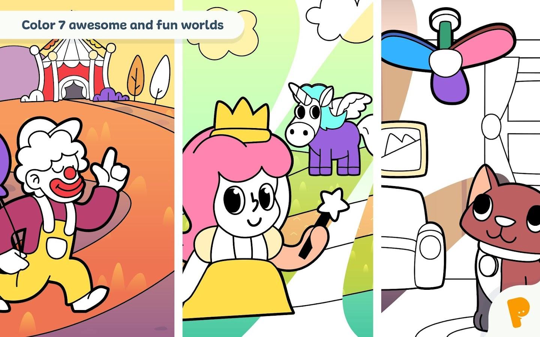Coloring Book For Kids 104 Screenshot 10