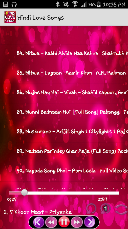 Hindi Love Songs 4 3 Apk Download Android Music Audio Apps