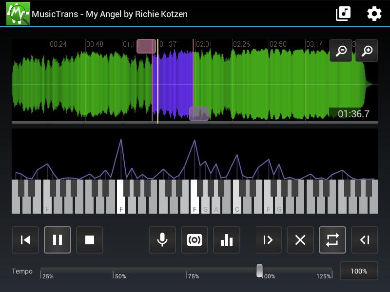 Music Transcription Lite 1 15 APK Download - Android Music & Audio Apps