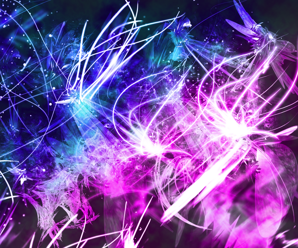Neon Glow Art Wallpaper 4K 107 Screenshot 3