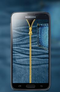 Jeans Zipper Screen Locker 1.1 screenshot 2