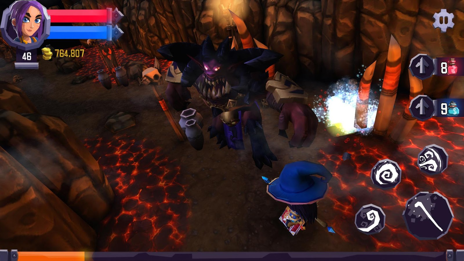 Heroes Curse 2 0 7 APK Download - Android Role Playing Games