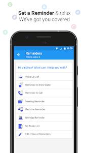 Haptik Assistant - Reminders, Flights, Cabs 6.14.0 screenshot 3