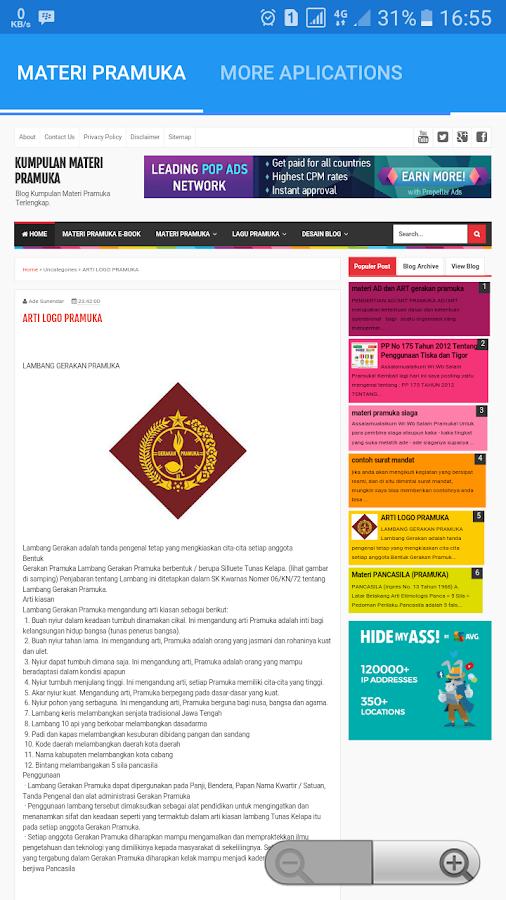 Kumpulan Materi Pramuka 10 Apk Download Android Education